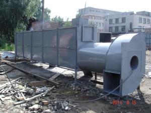 двухступенчатый пароперегреватель мощностью 700 квт для блока сушильных камер г.Петрозаводск.