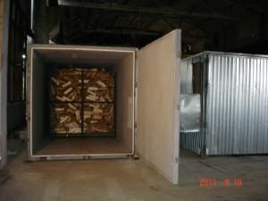 блок модульных сушильных камер на 88 складометров загрузки дров Петрозаводск.