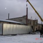 Монтаж сушильной камеры п.Калашниково Тверская обл.